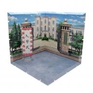 Dioramansion 150 - Accessoire Dioramansion 150 School Front Gate pour figurines Nendoroid et Figma