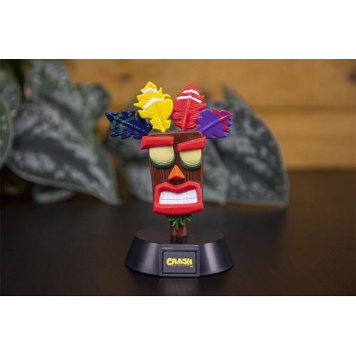 Crash Bandicoot - Veilleuse 3D Icon Aku Aku 10 cm