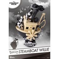 Disney - Diorama D-Stage Steamboat Willie Mickey & Minnie 15 cm