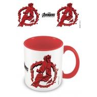 Avengers : Endgame - Mug Coloured Inner Shattered Logo