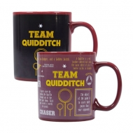 Harry Potter - Mug effet thermique Quidditch