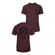 World of Warcraft - T-Shirt Premium Pocket Horde Bones Crest