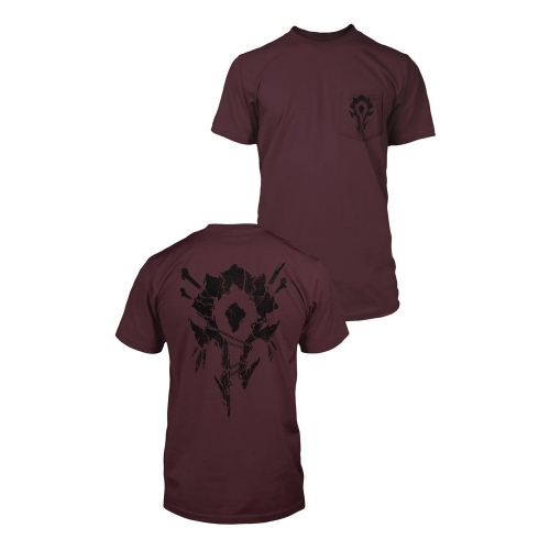 World of Warcraft - T-Shirt Premium Pocket Horde Bones Crest