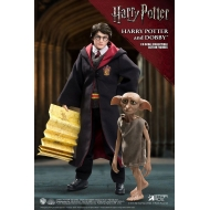 Harry Potter - Pack 2 figurines Real Master Series 1/8 Harry & Dobby 16-23 cm
