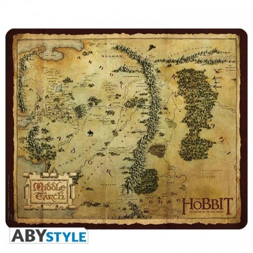 THE HOBBIT - Tapis de souris Carte Terre du Milieu