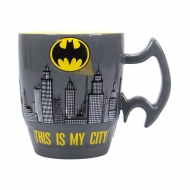 Batman - Mug Embossed City Scene