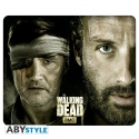 THE WALKING DEAD - Tapis de souris Rick Vs Le Gouverneur