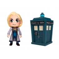 Doctor Who - Pack 2 figurines Vinyl Titans 13th Doctor Kawaii & Tardis 8 cm