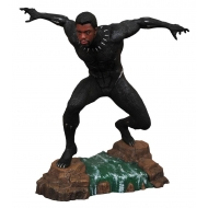 Black Panther - Statuette Movie Gallery Black Panther Unmasked 23 cm