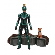 Captain Marvel - Select Figurine Captain Starforce Uniform 18 cm