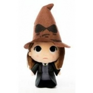 Harry Potter - Peluche Super Cute Hermione w/ Sorting Hat 18 cm