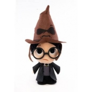 Harry Potter - Peluche Super Cute Harry w/ Sorting Hat 18 cm