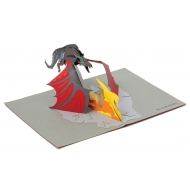 Game of Thrones - Carte pop-up 3D Dragon