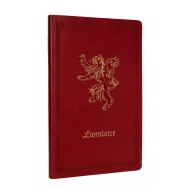 Game Of Thrones - Carnet de notes Lannister