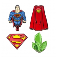 DC Comics - Pack 4 badges Superman