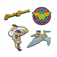 DC Comics - Pack 4 badges Wonder Woman