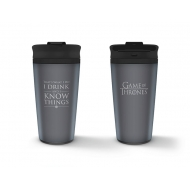Game of Thrones - Mug de voyage I Drink And I Know Things