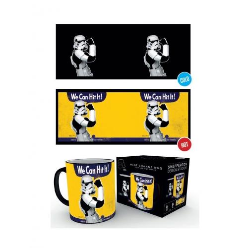 Star Wars - Mug effet thermique Original Stormtrooper We Can Hit It