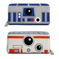 Star Wars - Porte-monnaie R2-D2/BB-8 By Loungefly