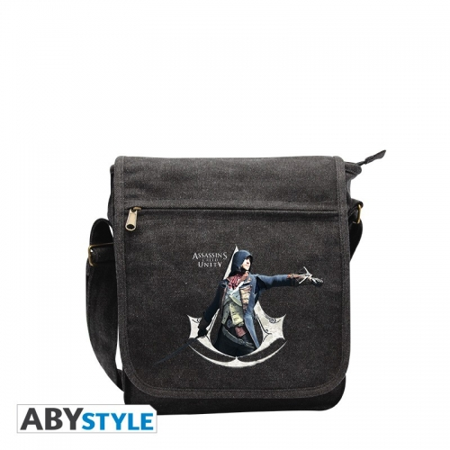 Assassin's Creed - Sac Besace AC5 Crest blanc Petit Format