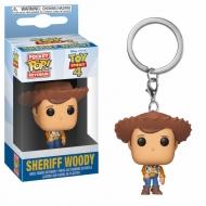 Toy Story 4 - Porte-clés Pocket POP! Woody 4 cm