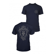 World of Warcraft - T-Shirt Premium Pocket Alliance Lion Crest