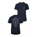 World of Warcraft - T-Shirt Premium Pocket Alliance Lion Crest