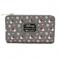 Disney - Porte-monnaie Minnie Head & Flower Print By Loungefly
