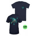 The Witcher - T-Shirt Premium Pocket Lion Of Cintra GITD