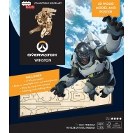 Overwatch - Maquette IncrediBuilds 3D Winston