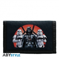 STAR WARS - Portefeuille Logo Vador Troopers navy