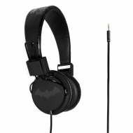 Batman - Casque audio Teen Black Logo Batman