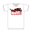 Deadpool - T-Shirt Deadpool & Marvel Logo