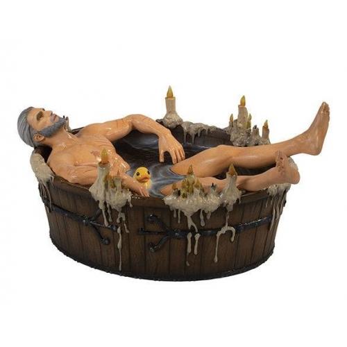 The Witcher 3 Wild Hunt - Statuette Geralt in the Bath 9 cm