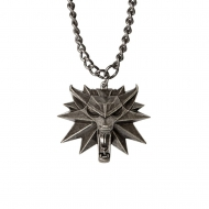 The Witcher III Wild Hunt - Pendentif avec chaînette Wolf