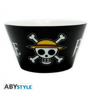 ONE PIECE - Bol 460 ml Skull porcelaine