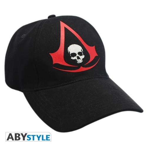 ASSASSIN'S CREED - Casquette Black AC4 - Crest