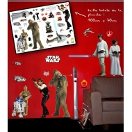 STAR WARS - Stickes 100x70cm - Rebels