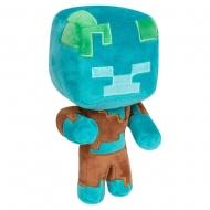 Minecraft - Peluche Happy Explorer Drowned 18 cm