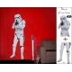 STAR WARS - Planche de stickers muraux Storm Trooper