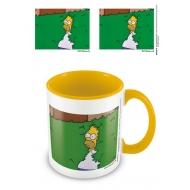 The Simpsons - Mug Coloured Inner Homer Bush