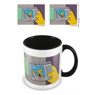 The Simpsons - Mug Coloured Inner Old Man Yells At Cloud