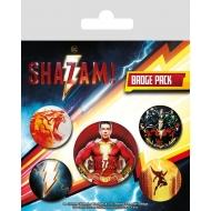 Shazam ! - Pack 5 badges Power