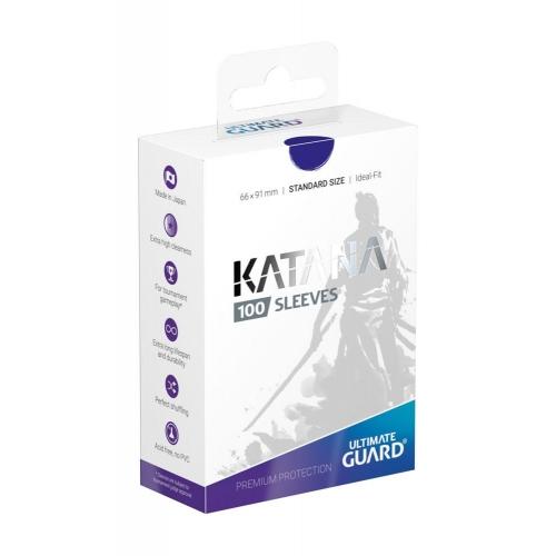 Ultimate Guard - 100 pochettes Katana Sleeves taille standard Bleu