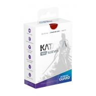 Ultimate Guard - 100 pochettes Katana Sleeves taille standard Rouge