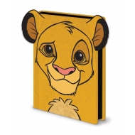 Le Roi Lion - Carnet de notes Premium A5 Simba Furry