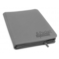Ultimate Guard - ZipFolio 8-Pocket XenoSkin Gris