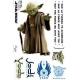 STAR WARS - Planche de stickers muraux Yoda (echelle 1)