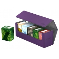 Ultimate Guard - Boîte pour cartes Arkhive 400+ taille standard XenoSkin™ Violet