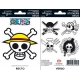 ONE PIECE - Planche de mini-stickers (16 X 11cm) Pirates Flag